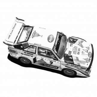 Rennwagen Replika